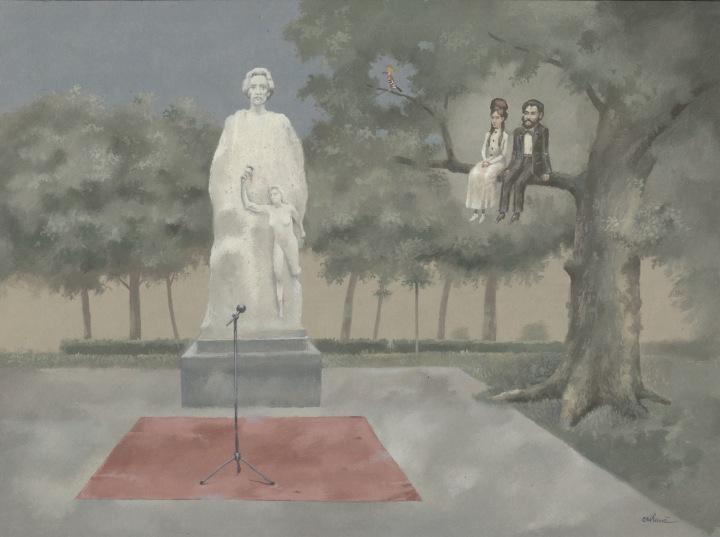 Ceremonie in Parcul Municipal
